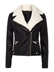 Therapy Romie Shearling Jacket Black