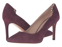 Tory Burch Elizabeth 85Mm Pump Port High Heels Burgundy