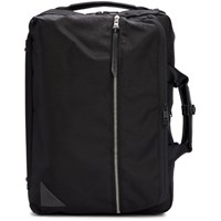 Master Piece Co Black Convertible 3 Way Briefcase Backpack