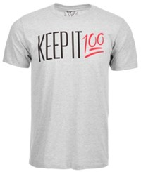 Univibe Keep It 100 T Shirt By Lt Pas Gry