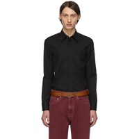 Maison Martin Margiela Black Cotton Shirt