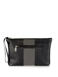 Alexander Mcqueen Studded Leather Document Holder