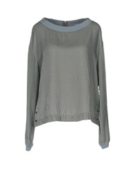 Girl By Band Of Outsiders Blouses Grey