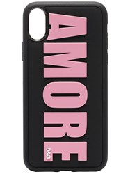 Dolce And Gabbana Black Pink Amore Iphone X Case