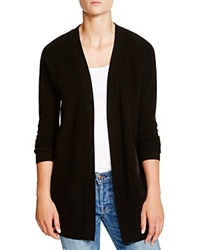 C By Bloomingdale's Seed Stitch Cashmere Cardigan Black
