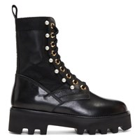 Altuzarra Black Cosmo Jungle Boots