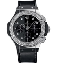 Hublot 341.Sx.1270.Vr.1104 Big Bang Stainless Steel And Crocodile Leather Watch
