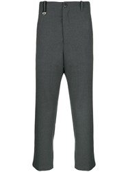 Oamc Cropped Trousers Grey