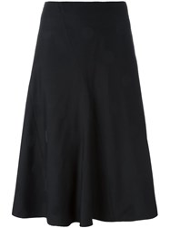 Y's Panelled Skirt Black