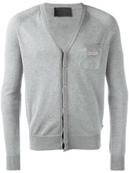 Philipp Plein True Cardigan Grey