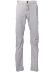 Closed Classic Slim Fit Chinos Grey