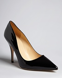 Kate Spade New York Pointed Toe Pumps Licorice High Heel Black