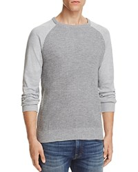 Sovereign Code Argent Waffle Knit Sweater Grey