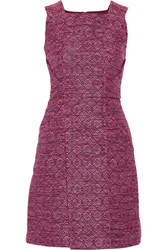 Raoul Vienna Woven Mini Dress Pink