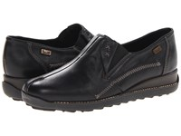 Rieker 44253 Doro 53 Black Women's Slip On Shoes