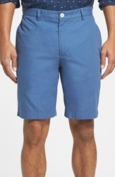 Vineyard Vines Men's Big And Tall 'Summer' 9 Inch Flat Front Twill Shorts Flag Blue
