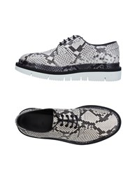 Oamc Lace Up Shoes Light Grey