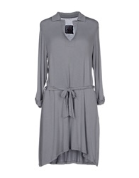 Made In Heaven Short Dresses Grey