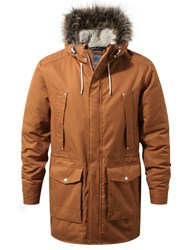 Craghoppers Men's Argyle Waterproof Insulating Parka Tobacco