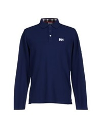 Helly Hansen Polo Shirts Dark Blue