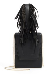 Danielle Nicole Alivia Leather Clutch Black