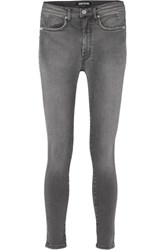 Adaptation Mid Rise Skinny Jeans Charcoal