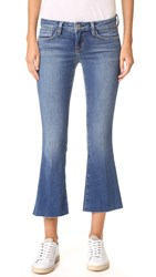 L'agence Charlie Cropped Flare Jeans Authentique