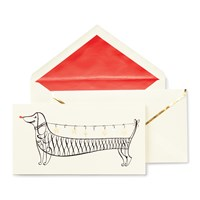 Kate Spade Christmas Notecard Set Jingle All The Way