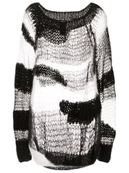 Ann Demeulemeester Whispery Hand Knitted Sweater 60