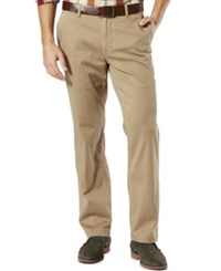 Dockers Pacific Wash Khaki Straight Fit Flat Front
