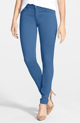 Nydj Women's Alina Colored Stretch Skinny Jeans Blue Willow
