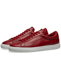 Zespa 4 Hgh Leather Sneaker Red