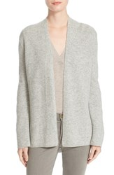 Brochu Walker Women's Olive Cashmere Cardigan Mist Grey