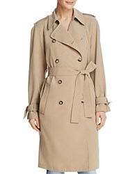 Dylan Gray Trench Coat Khaki