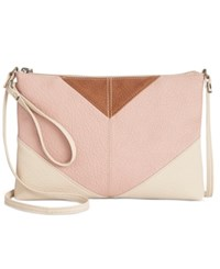 Styleandco. Style Co. Kathren Convertible Crossbody Only At Macy's Shell Pink