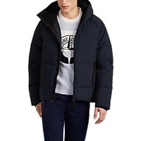 Isaora Voyager Hooded Puffer Jacket Navy