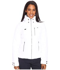 Obermeyer Leighton Jacket White Women's Coat