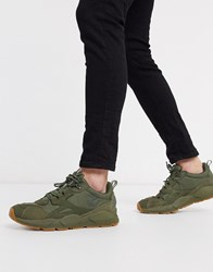 Timberland Ripcord Arctra Low Trainers In Khaki Green
