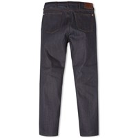 Paul Smith Tapered Fit Red Cast Jean Blue