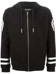 Cesare Paciotti Embroidered Zipped Hoodie