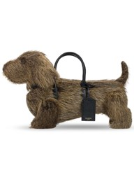 Thom Browne Natural Nutria Fur Hector Bag