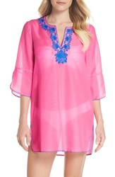 Lilly Pulitzer Piet Cover Up Pink Sunset
