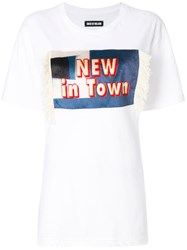 House Of Holland New In Town T Shirt White