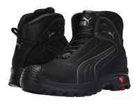 Puma Safety Cascades Mid Eh Black Men's Work Boots