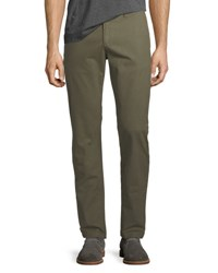 Penguin P55 Slim Fit Garment Dye Stretch Chino Pants Olive