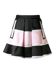 Jean Pierre Braganza Jean Pierre Braganza 'Dielectric' Striped Skirt Black