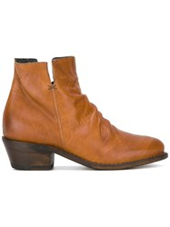 Fiorentini Baker Ankle Boots Nude Neutrals
