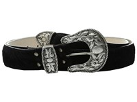 Leather Rock 1744 Black Hair Women's Belts