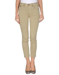 Burberry Brit Denim Pants Sand