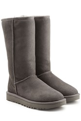 Ugg Australia Classic Ii Tall Suede Boots Grey